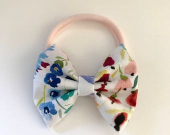 Wildflower Classic Cotton Bow