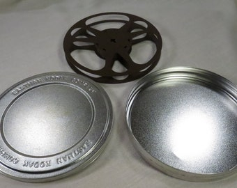 Kodak 16mm 400 Foot Empty Film Reel with Can