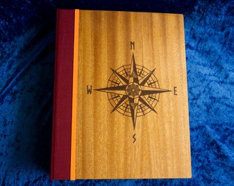 Wood/Wood Travel Notebook