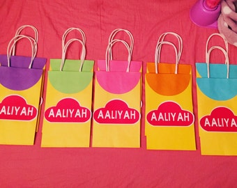 Play-Doh Theme Favor Bags