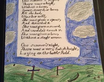 Summer's Night poem