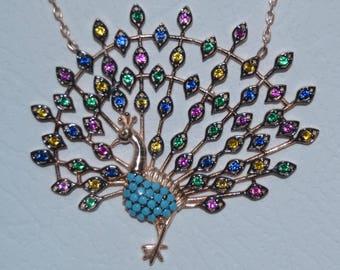 Peafowl necklace, Turkish jewelry, Grand bazaar