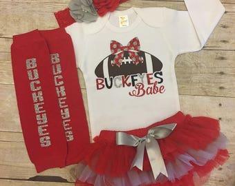 Ohio State Buckeyes, Buckeyes Baby, Ohio State baby, Buckeye football, buckeye baby, OSU football, Ohio State baby gift, Ohio State Newborn
