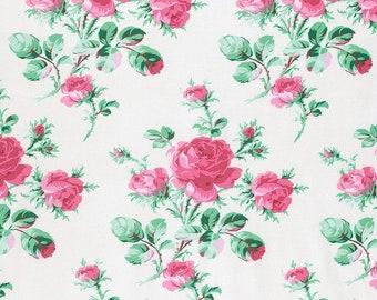 Verna Mosquera for Free Spirit - PEPPERMINT ROSE -  Peppermint Rose  - Dove - Cotton Fabric - PWVM174