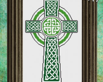 PDF 'Celtic Cross' Cross Stitch Pattern
