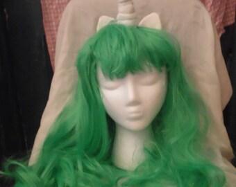 Unicorn Wig Teal Green Unicorn Horn Costume Wig My Little Pony Cosplay Gusty
