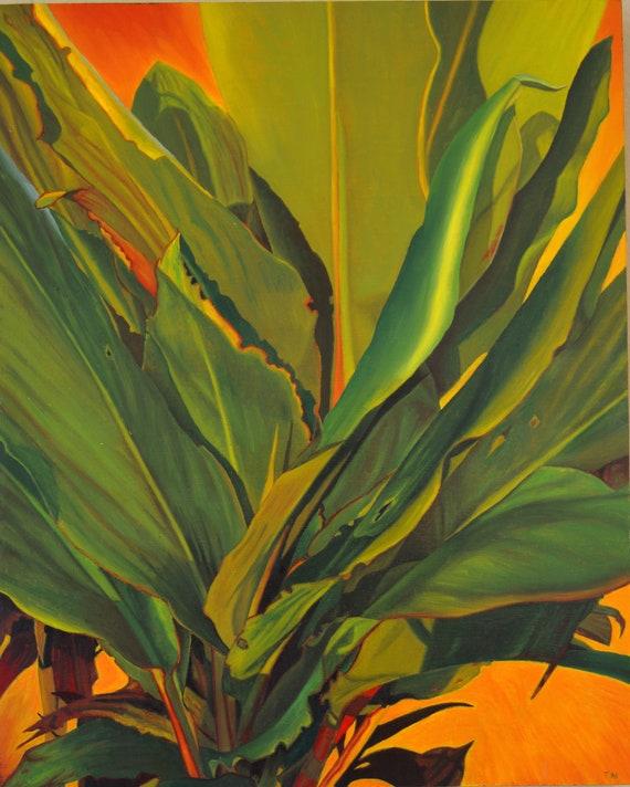 Bobo, oil on linen, image size 16 x 20 inches, framed