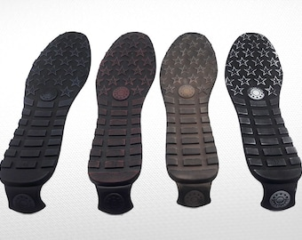 Men Soles for sneakers - Lightweight rubber soles for felted and leather men shoes - Soles men footwear - Soles for felted boots