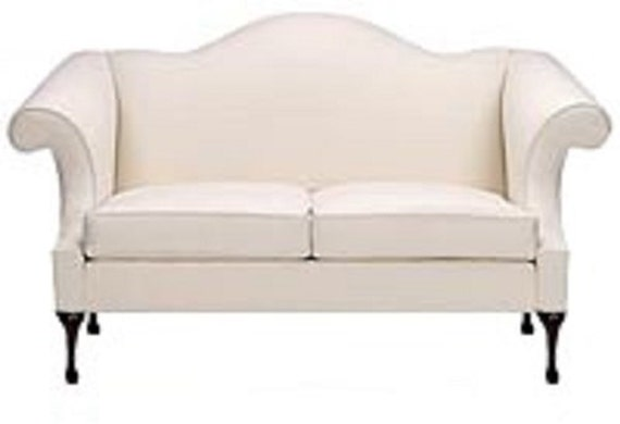 Custom Queen Anne Sofa Made To Order Couch Custom Livingroom