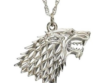 Custom Game Of Thrones House Stark Necklace