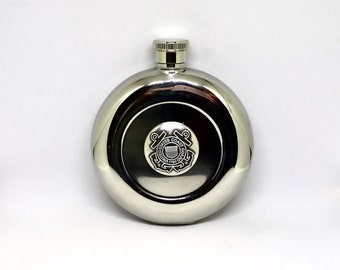 Coast Guard Flask – Metallic