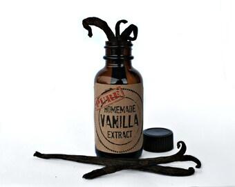 Pure Vanilla Extract DIY Kits