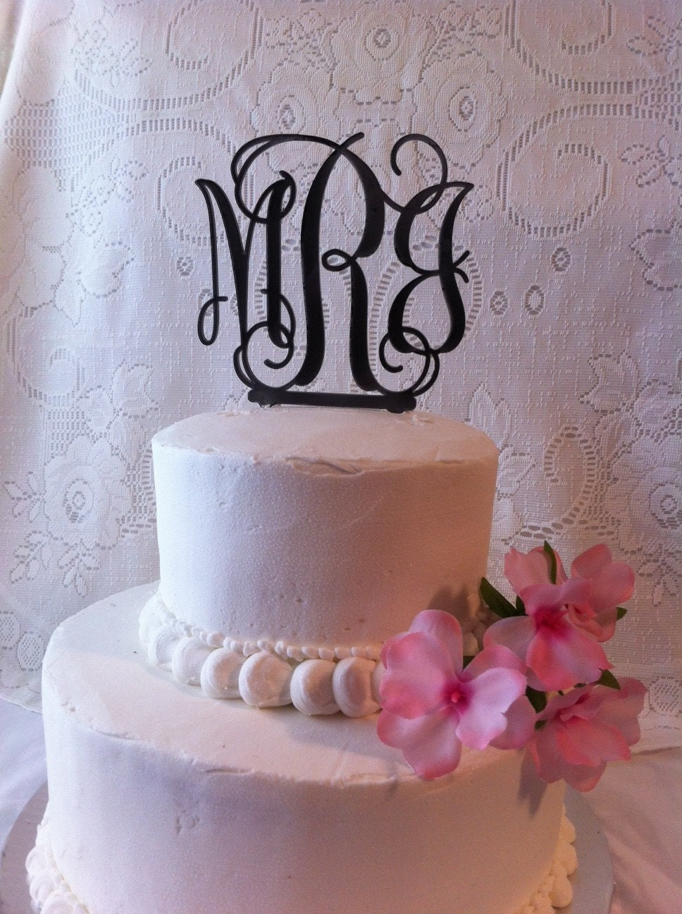 %name Letter Cake Toppers For Wedding Cakes