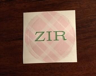 Zir Pronoun Sticker