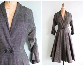 Vintage 1950's Best's Apparel Princess Coat | Size Medium