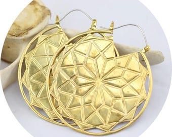 Heila Medallion Earrings