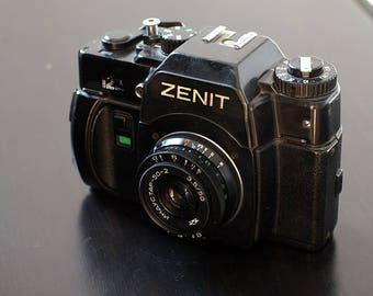 Russian camera Zenit 122 N93345114 USSR Soviet Lens Industar 50mm f/3.5