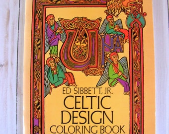 Celtic Design Coloring Book