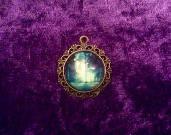 Eerie forest pendant