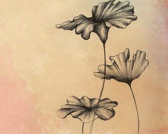 Foliage Studies 2 - Fine Art Illustration