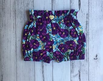 Ready to Send- Purple Petunia Bloomers