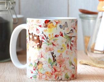 SAKURA cherry blossom  Mug 11 oz