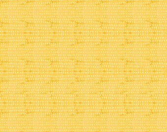 The Adventurers Seeds Yellow by Cori Dantini -- 1/2 YD