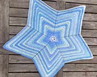 5 Point Star Customisable Baby Blanket