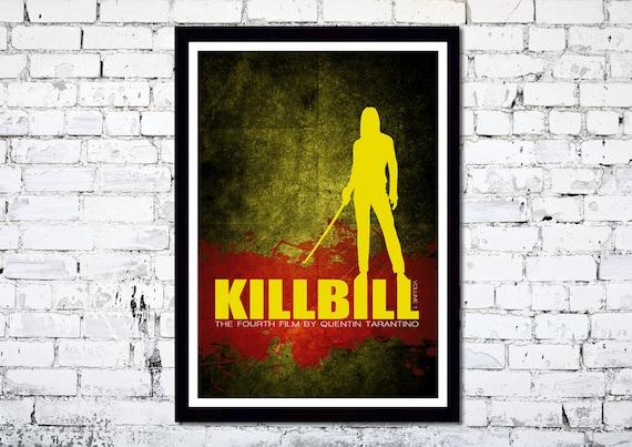 Kill Bill Volume 1 // Movie Poster // Quentin Tarantino // Uma Thurman // Unique Art Print