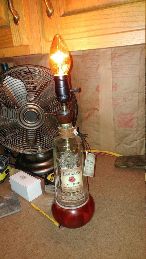 Liquor Bottle Table Lamp