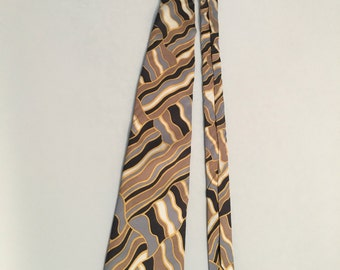 "Vintage 1970s Tie, Mens ""Orvieto"" Necktie"