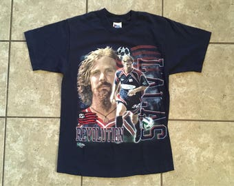 Pro Player Alexi Lalas USA Soccer T Shirt 1997 Medium