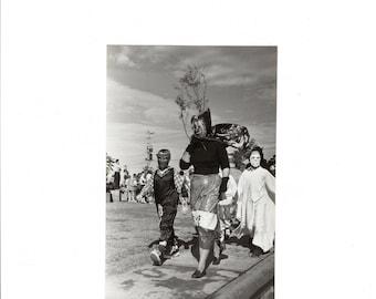 FANTASTIC halloween parade photo 1956