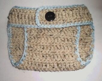 Various Colors (0-3 mo.) Crochet Baby Diaper Cover Infant Boys Girls Diaper Cover