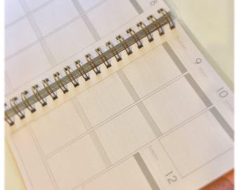 2018 Weekly Vertical MulberryPOP Planner