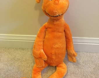 Vintage Dr suess the foot book plush chatacter