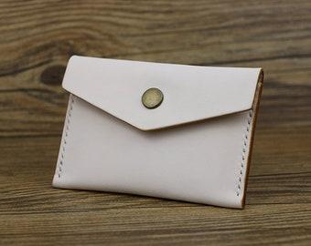 Slim Leather Card Holder, Leather Coin Wallet, Leather Card Case, Slim Wallet, Leather Card Wallet, Leather Cardholder Women