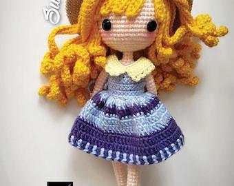 Crochet Doll Pattern - Sunni 珊倪