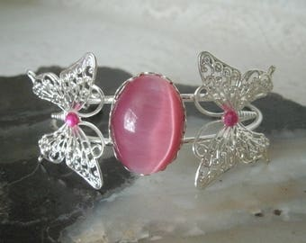 Butterfly Cuff Bracelet, boho jewelry bohemian jewelry hippie jewelry gypsy bracelet pin up boho bracelet bohemian bracelet hippie bracelet