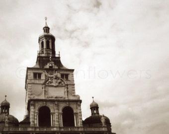 Eine Kirche in München 8 x 10 Fine Art Print. Schwarz und weiß. Architektur. Europa. Deutschland. Reisen.