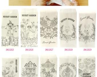 Secret Garden Envelopes Pack of 5