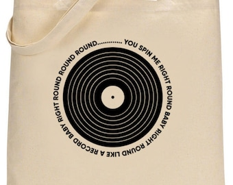 Dode of Alive tote bag - u Spin Me Round
