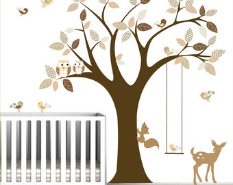 Vinyl Wall Decals Stickers Tree Wall Decals