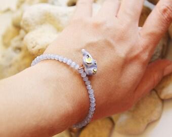 Elephant Bracelet animal jewelry delicate minimalist
