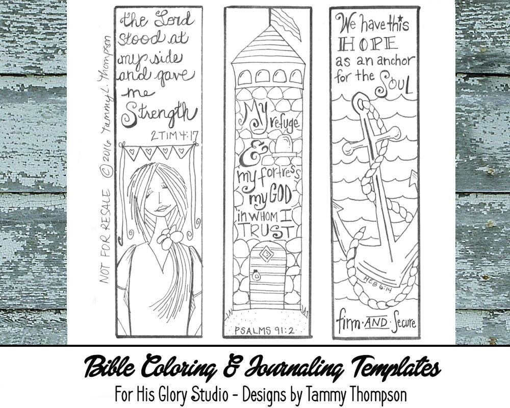 Bible Journaling Strength & Hope 5 bible journaling