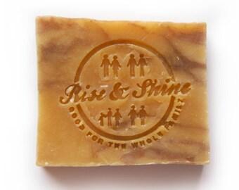 Lemon Wood Soap, Cold process soap, handmade soap, natural soap, organic soap