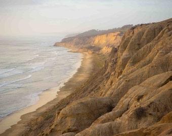 Black's Beach Coastline, Torrey Pines, Del Mar, LaJolla