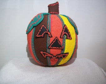 Patchwork Quilted Pumpkin