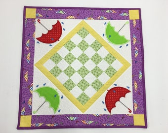 Singing in the Rain Table Topper