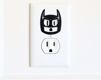 Batman - Electric Outlet Wall Art Sticker Decal